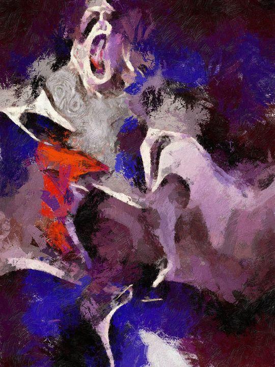 0078 - Pantomime Artist - Johan Van Barel