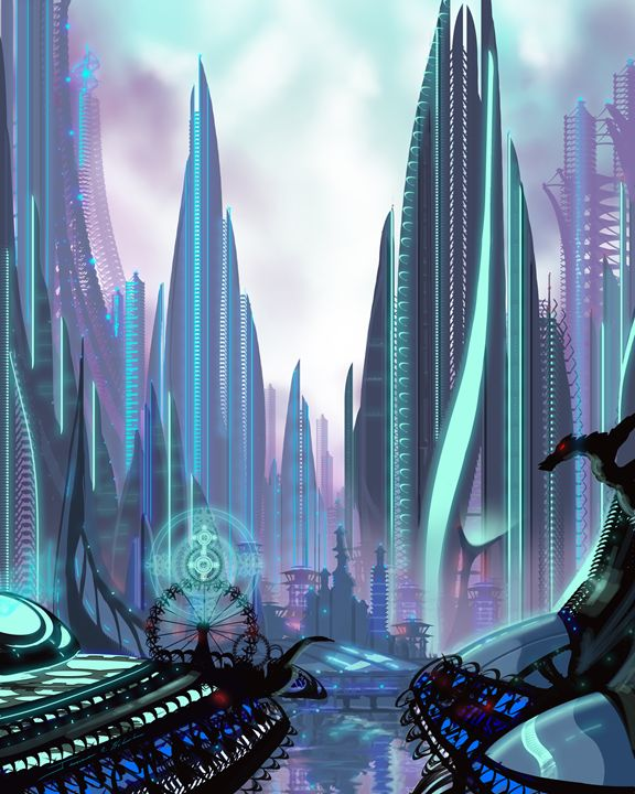 Transia City - James Hill Gallery