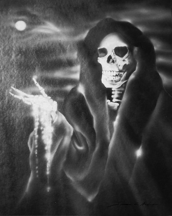 The Grim Reaper - James Hill Gallery