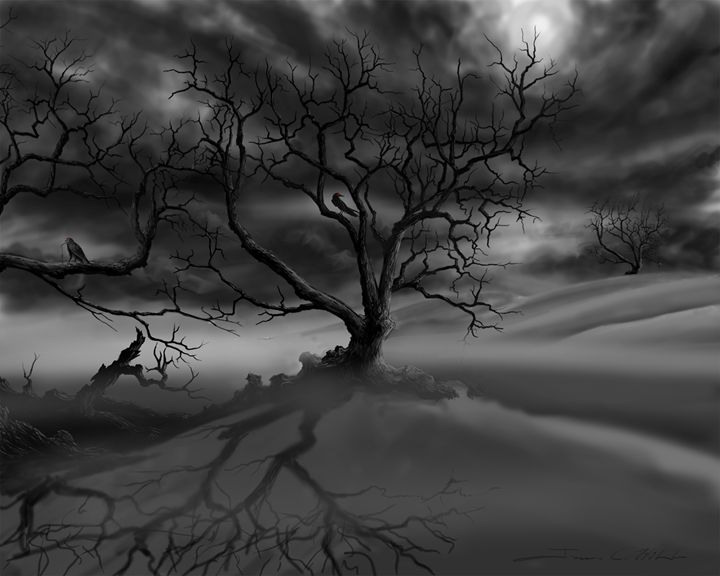 The Raven's Tree - James Hill Gallery