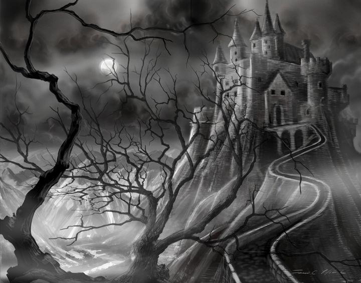 The Dark Castle - James Hill Gallery