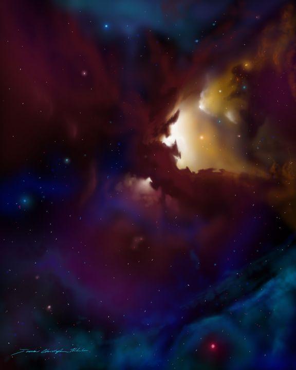 Bat Nebula - James Hill Gallery