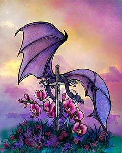 Sunset Orchid Dragon