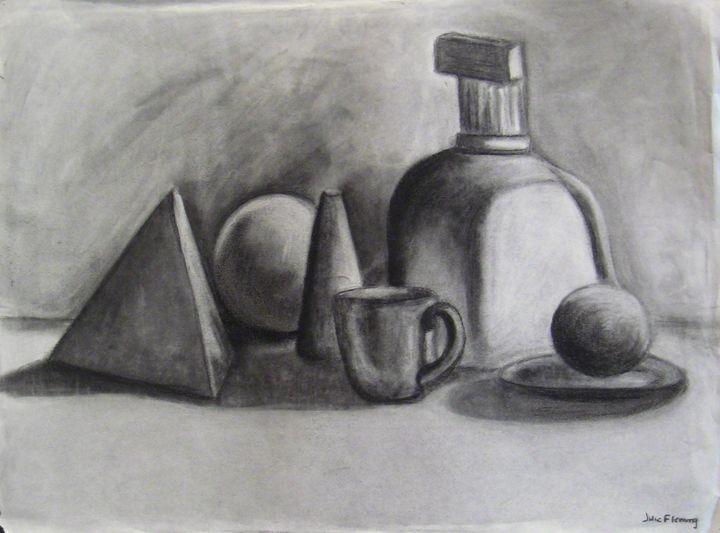 Still life of objects - Irina Fleming
