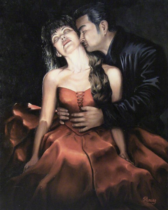 Red dress - Irina Fleming