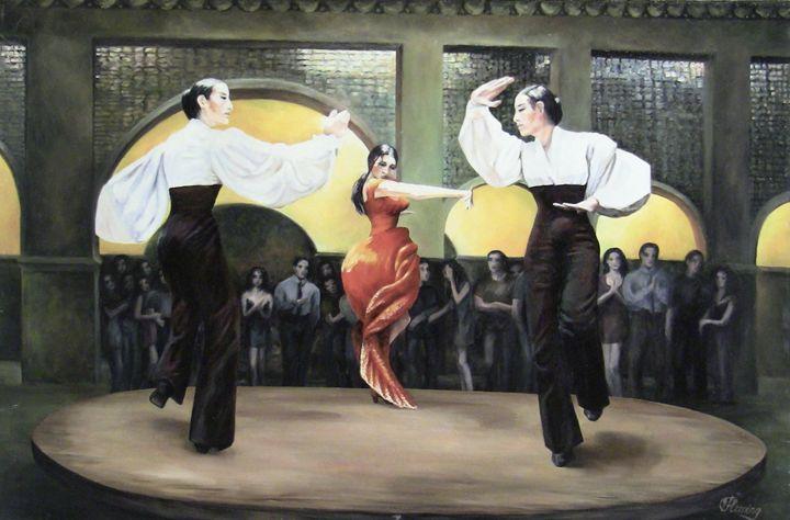 Flamenco Dance - Irina Fleming