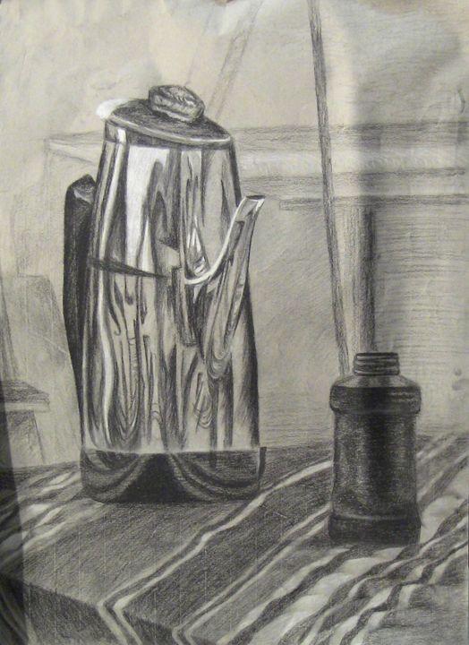 Coffee pot - Irina Fleming