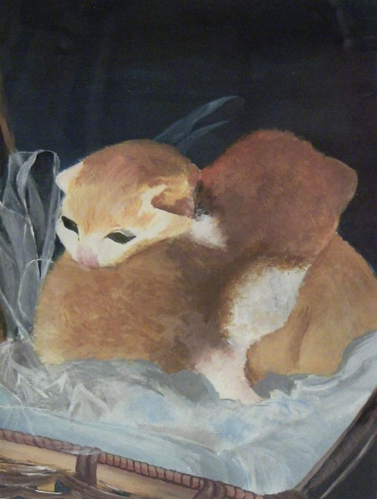 Two kittens - Irina Fleming