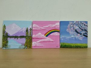 Mini Nature Wall Paintings