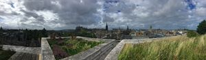 City of Edinburgh from NMS rooftop