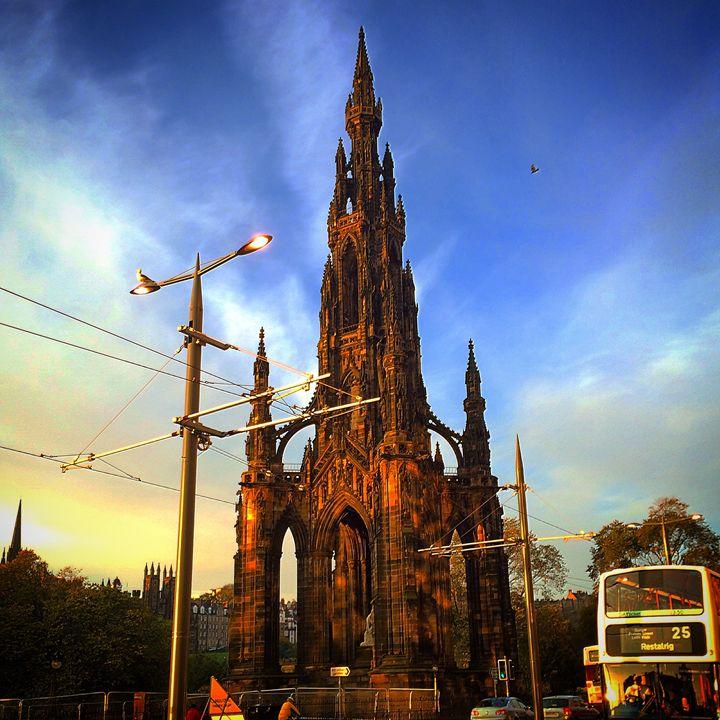 Scott Monument, Edinburgh, Scotland - Photography