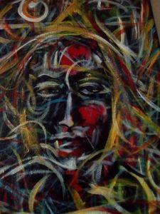 Ethnik peinture