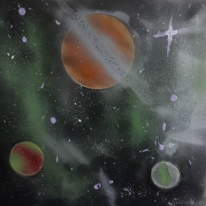 Green Galaxy - Daniel James