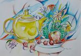 Teapot themed work