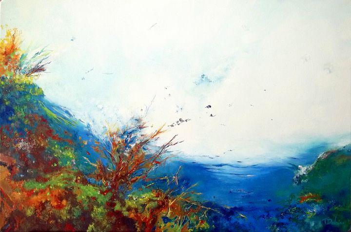 A wild swim - Theophile Delaine