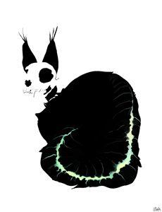 Cat Skulleton
