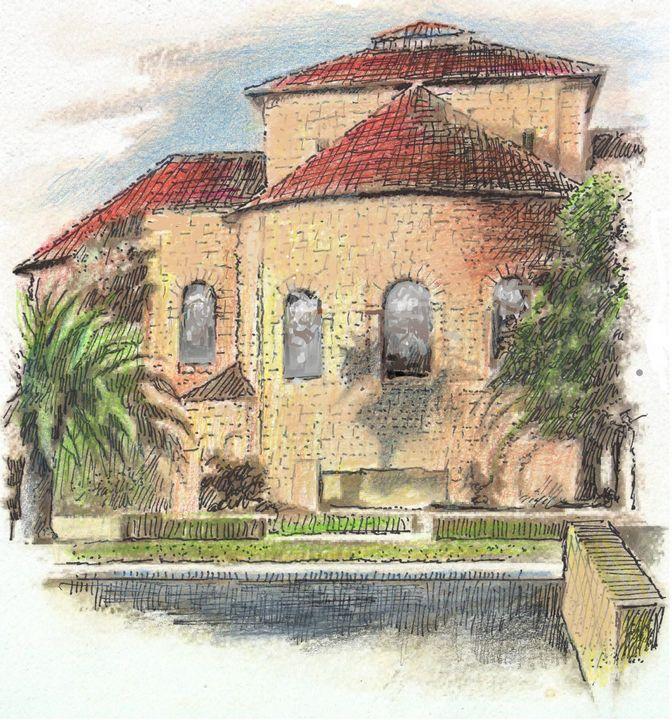REAR VIEW CAMPUS CHURCH - VISARCH BNN