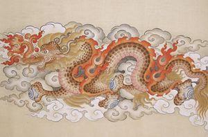 Tibetan style dragon