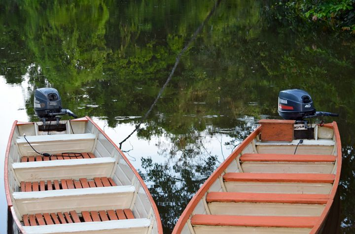 Twin Boats - Thebert Photography