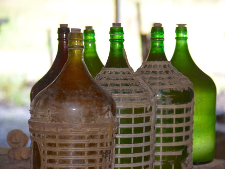 Rum Bottles - Thebert Photography