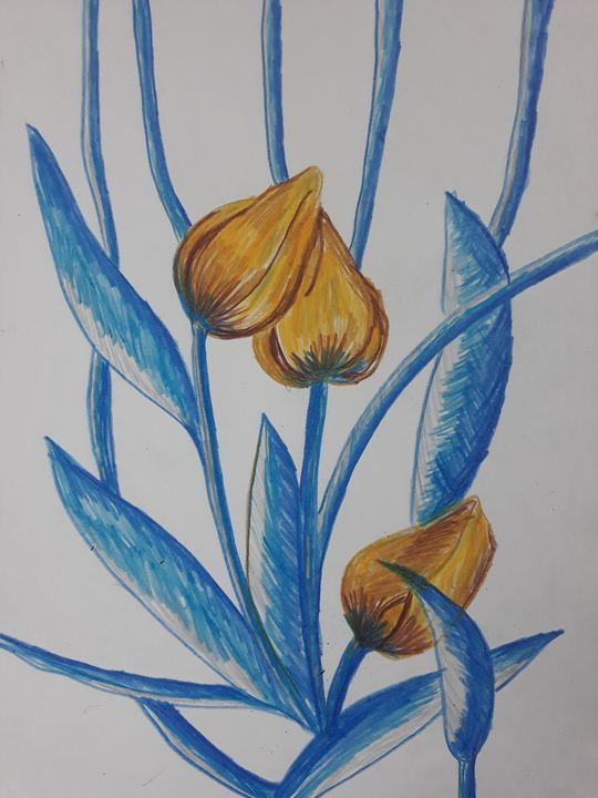 Flowers - Sampresan art