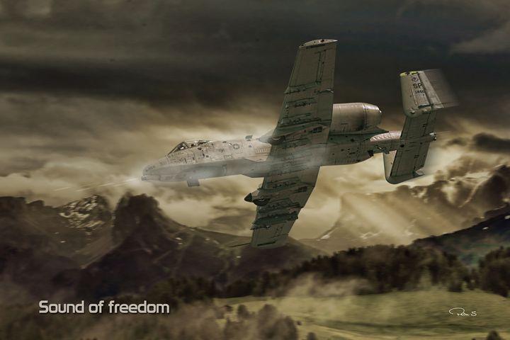 Sound of freedom - psdigital art