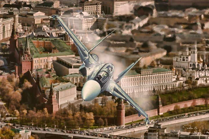 Russian Power Over Kremlin - psdigital art