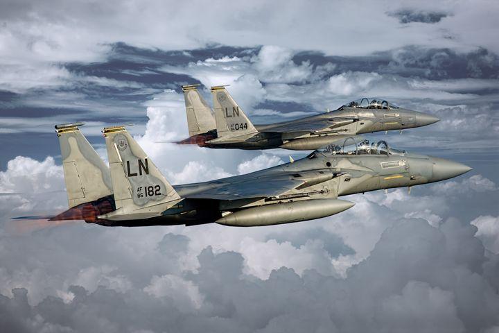 F15D Duo - psdigital art
