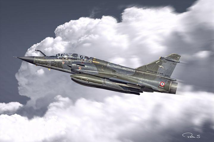 Mirage 2000N speeding up - psdigital art