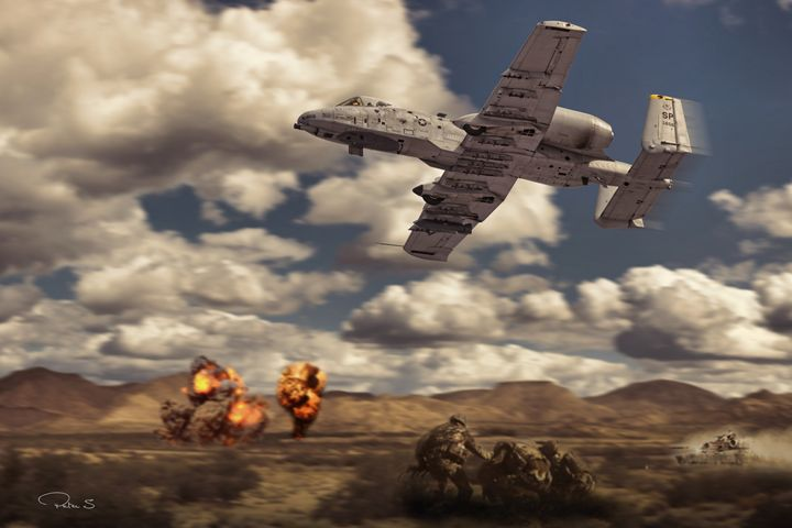 A10 attack - psdigital art
