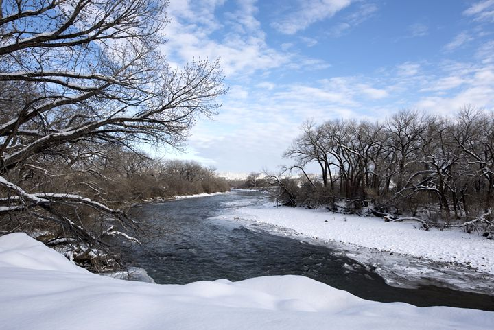 Winter's River - Western Images