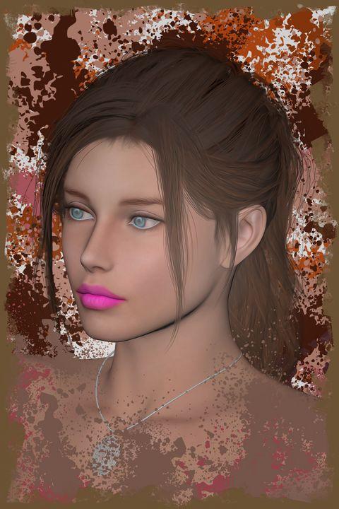Girl Face - Deepak Creation