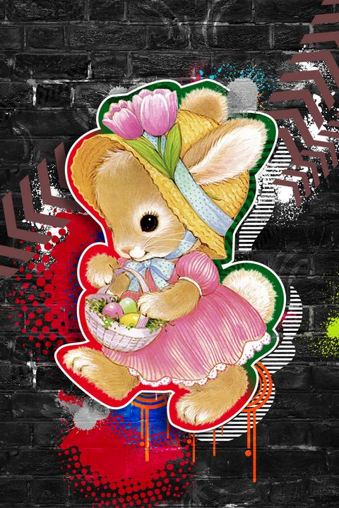 Rabbit Girl Child - Deepak Creation