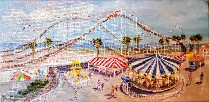 The Belmont Park - Leah Higgins Fine and Friendly Art