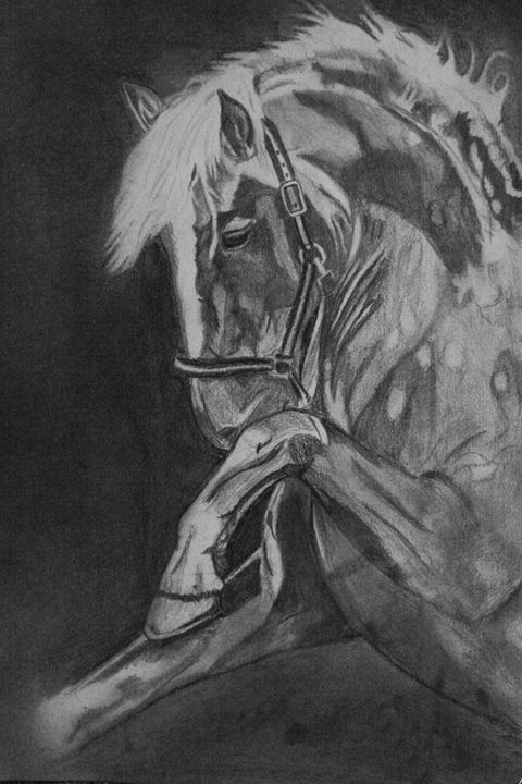Rear - SamAdele Pet&Equine Art