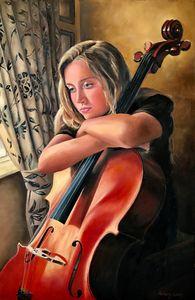 The Pensive Cellist