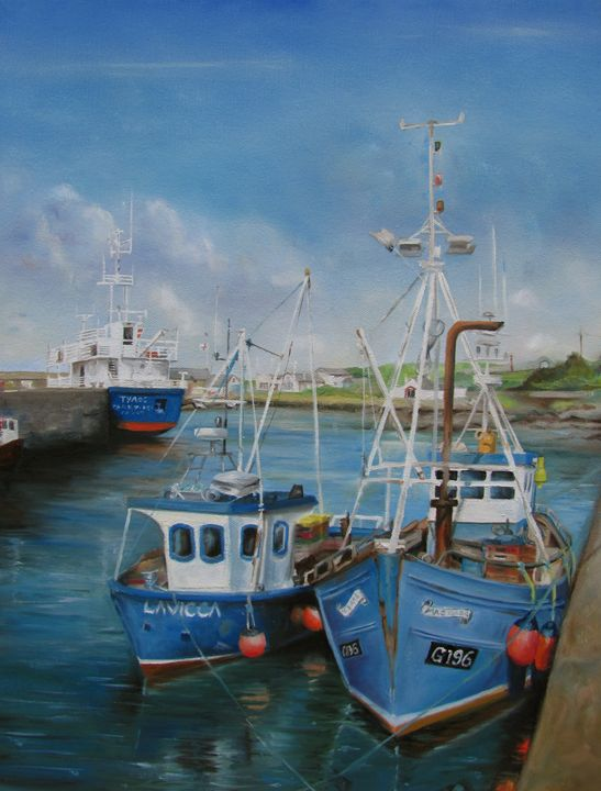 True Blue Trawlers - Hilary Long