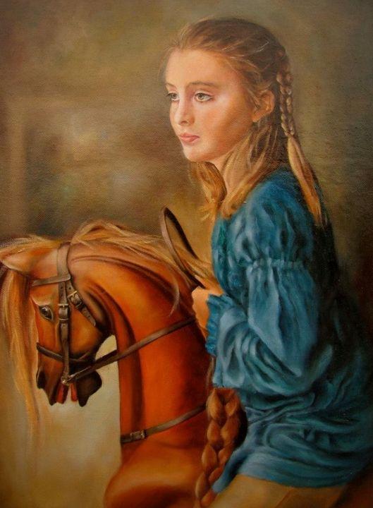 Braveheart gallop - Hilary Long