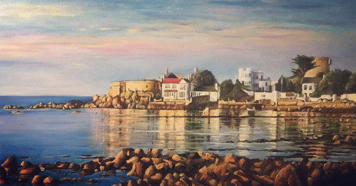 Sandycove, Reflections at dusk. - Hilary Long