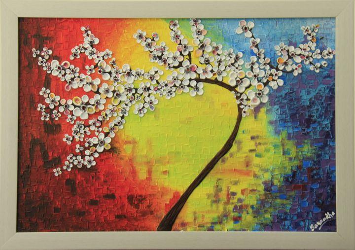 Vivacious bloom - SeeLakshArtz