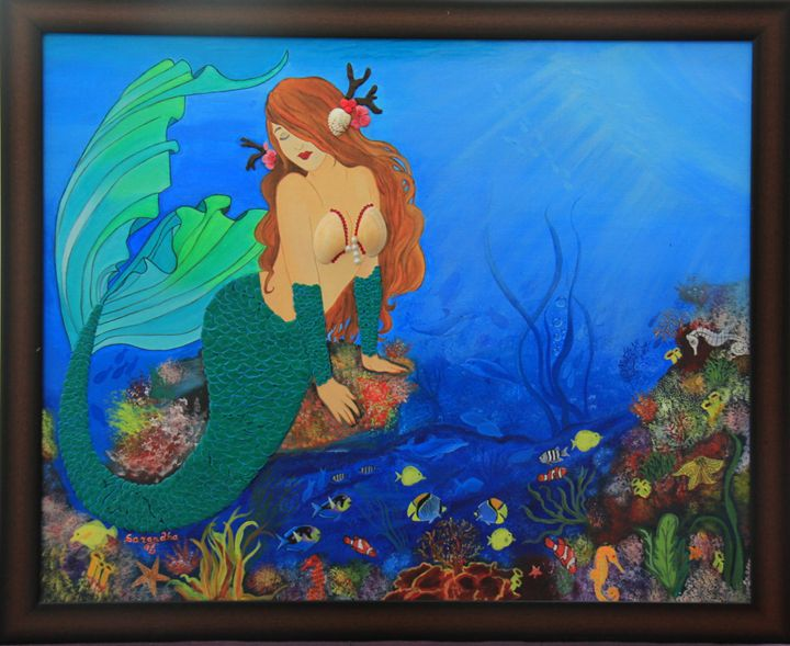 Mermaid-Mystery or Myth - SeeLakshArtz
