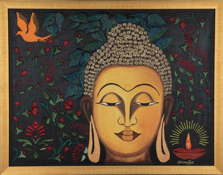 Tranquil Buddha - SeeLakshArtz