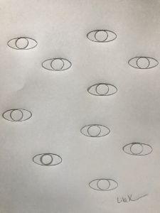 Starring eyes