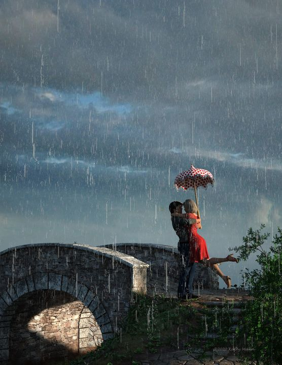 Romance in the Rain - Media Free Spirit