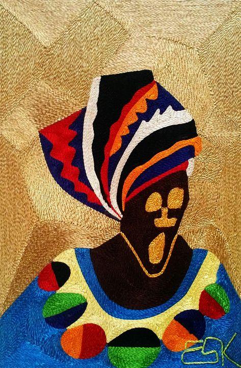 Mena ye ( my mum is good) - Eskebua Arts