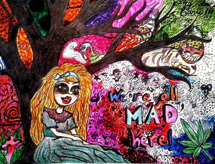 We're All Mad Here ! - Amanda Sara