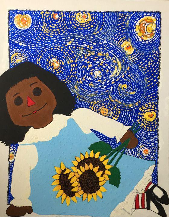 Harriet - Art by Pamela