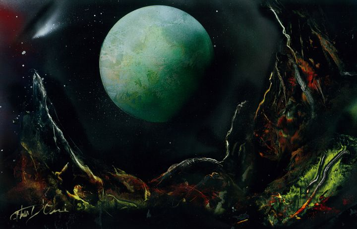 The Lunar Garden - Illusions Ink Studio