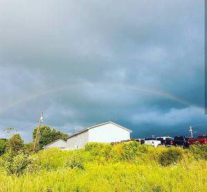 Rainbow Over Home
