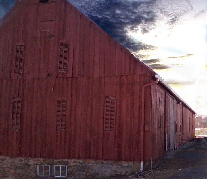 Red Barn - Wayne Bien